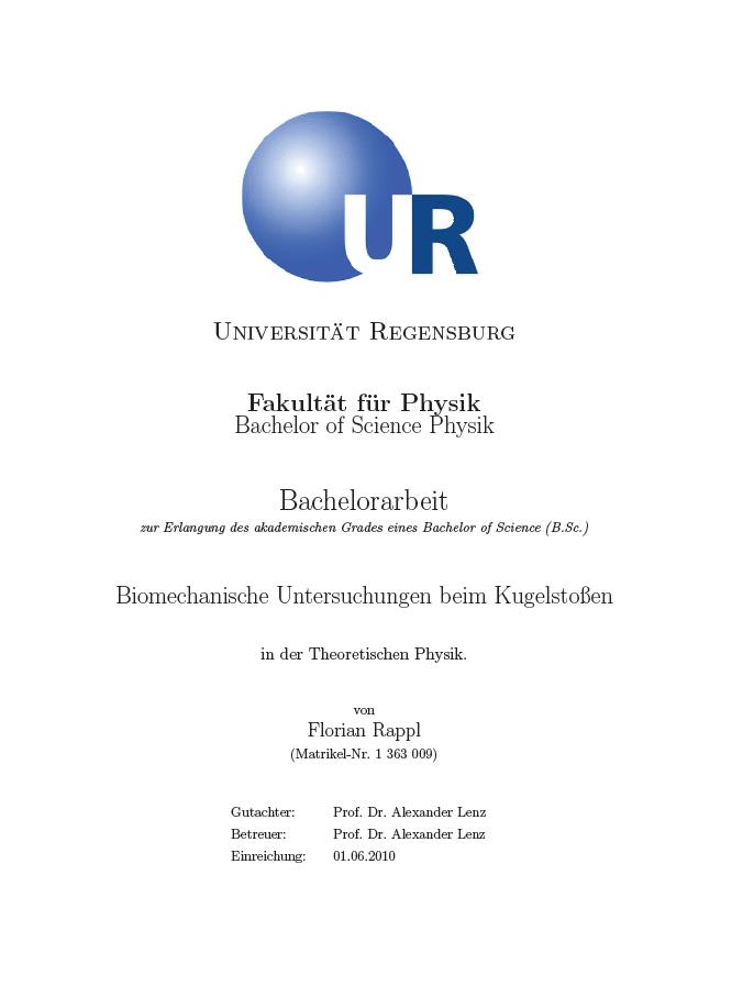 deckblatt thesis fh kiel